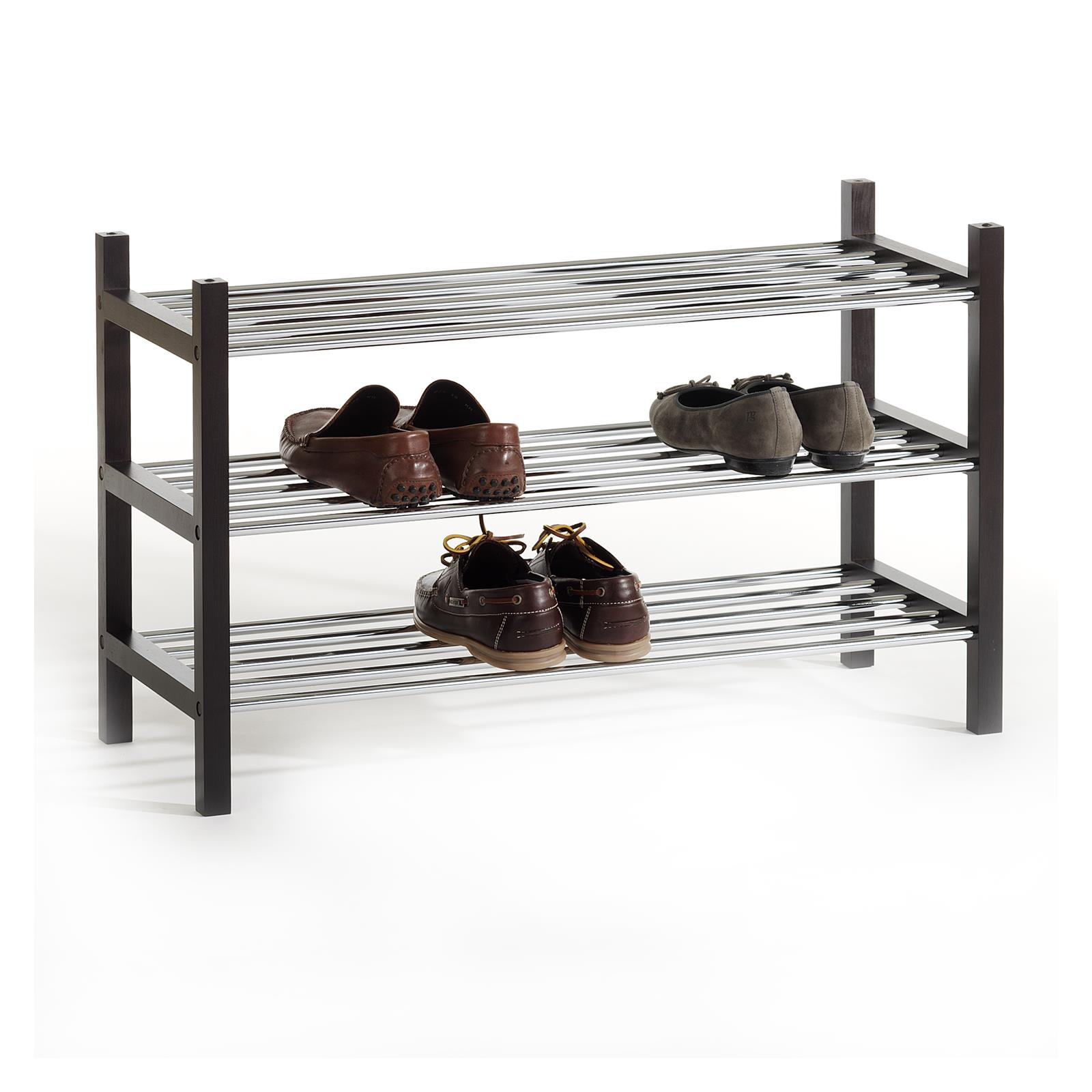etagere rangement banc a chaussures 3 tablettes neuf ebay. Black Bedroom Furniture Sets. Home Design Ideas