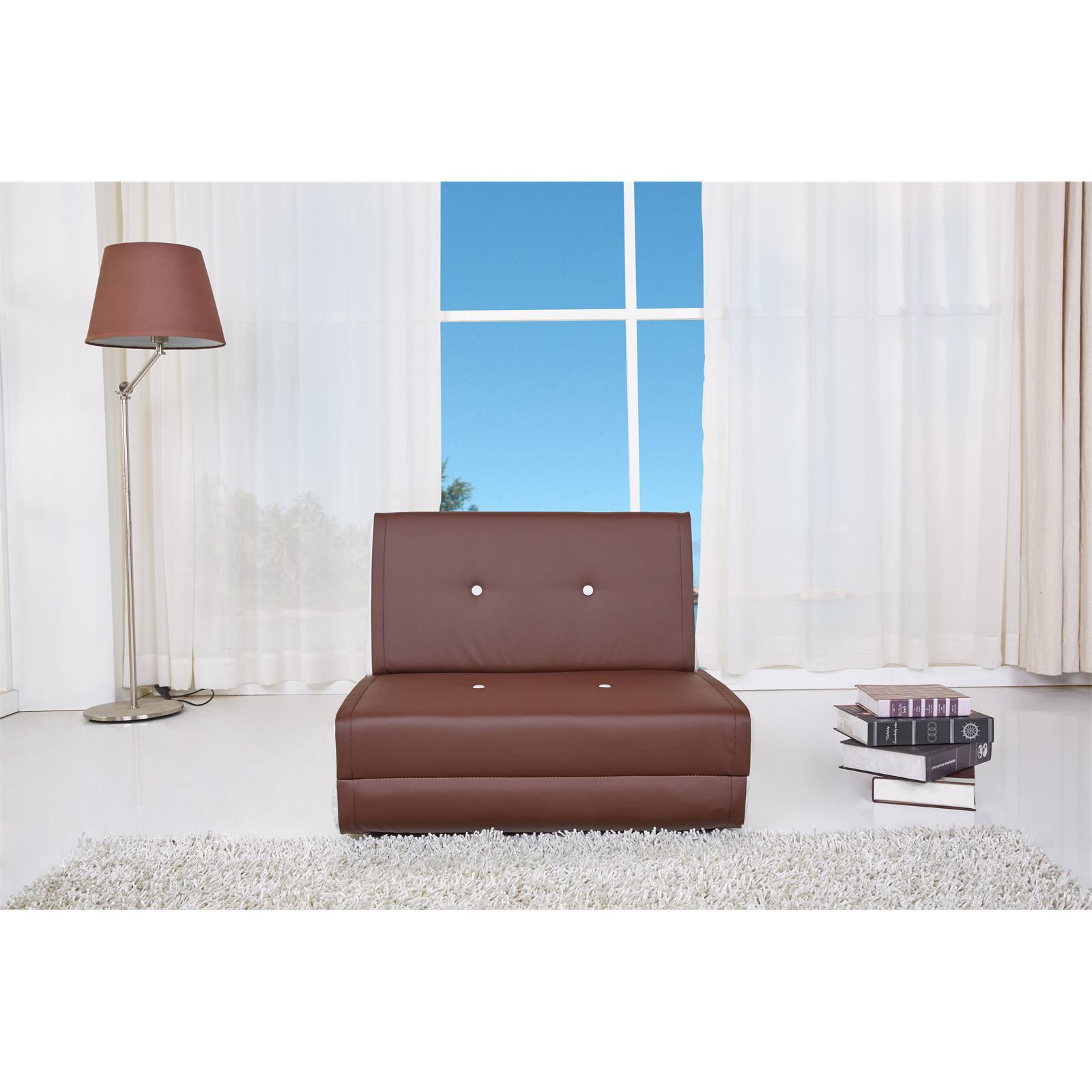 schlafsessel sofaliege design jugend bett braun weiss. Black Bedroom Furniture Sets. Home Design Ideas
