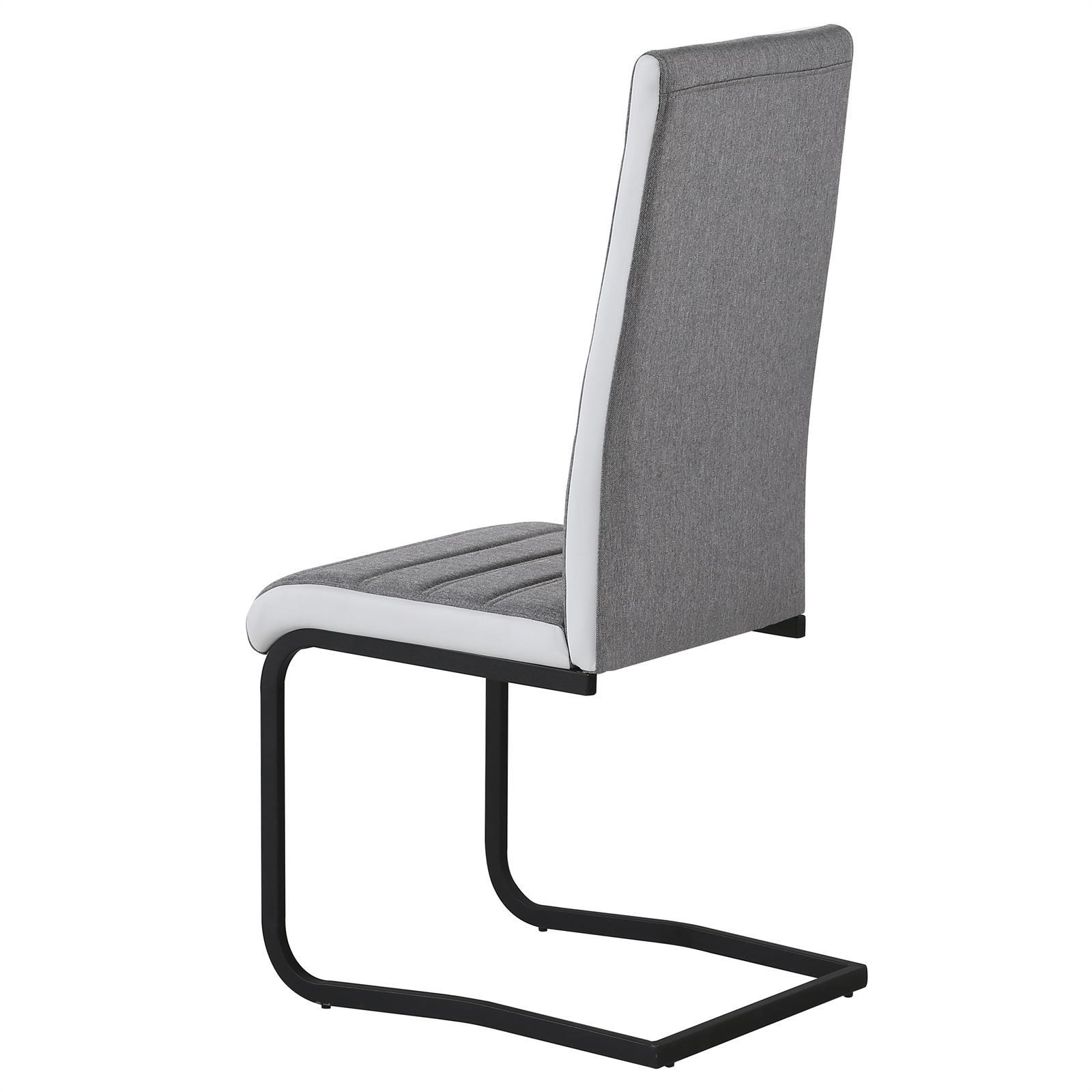 4er set k chenstuhl esszimmer stuhl schwingstuhl. Black Bedroom Furniture Sets. Home Design Ideas
