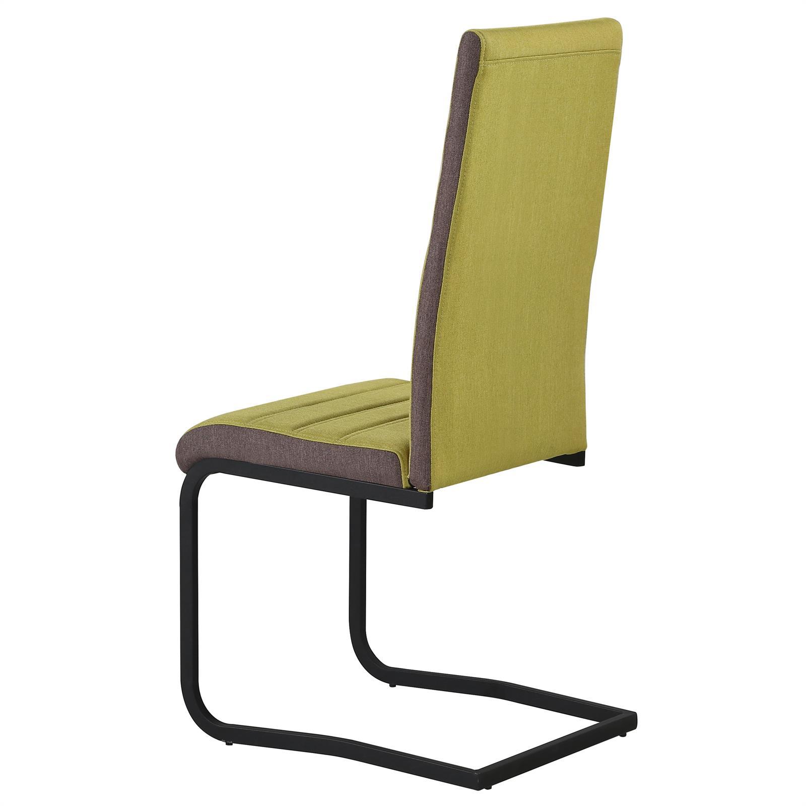 4er set k chenstuhl esszimmer stuhl schwingstuhl for Design schwingstuhl