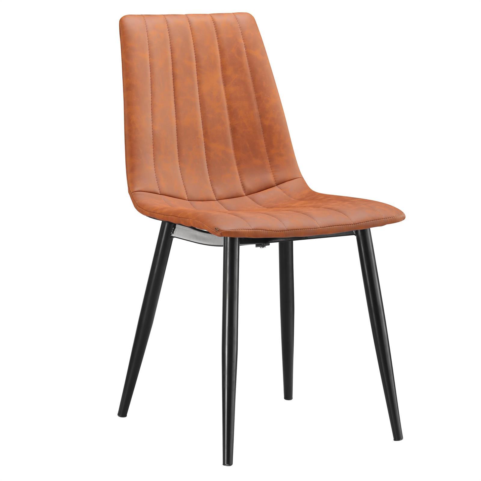 esszimmerstuhl 4er set k chen polsterstuhl design retro. Black Bedroom Furniture Sets. Home Design Ideas