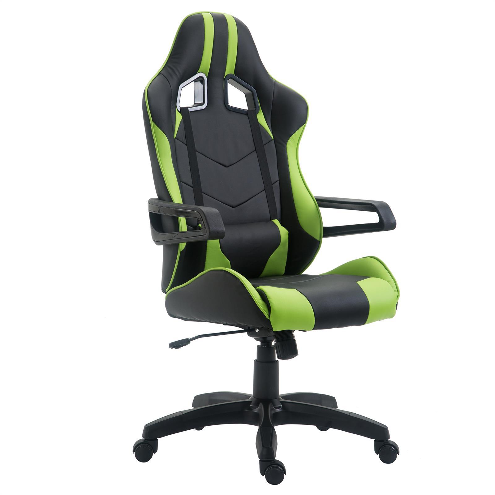 B rostuhl gaming stuhl racer drehstuhl chefsessel schreibtischstuhl gamer ebay - Gaming stuhl ebay ...