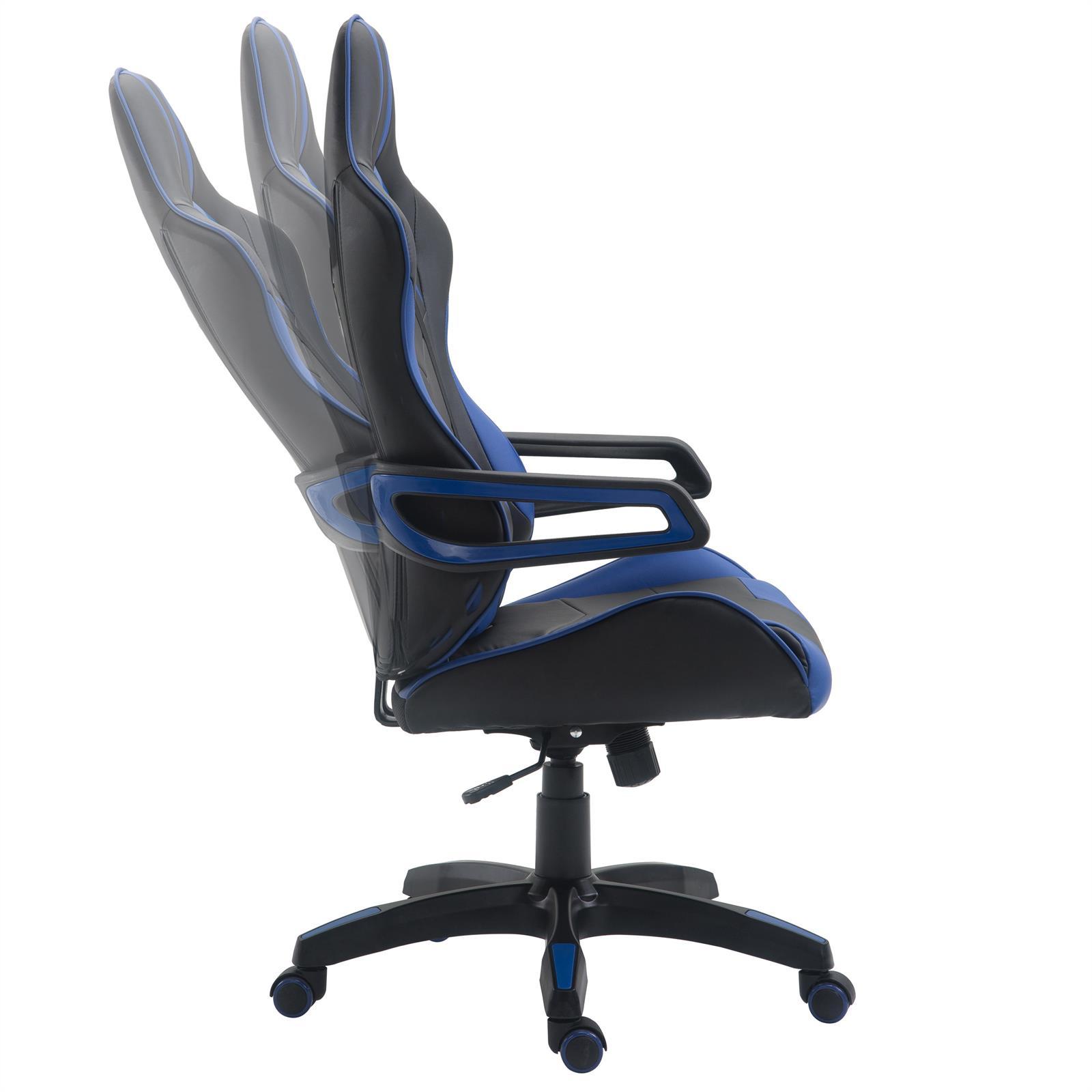 b rostuhl gaming stuhl racer drehstuhl chefsessel schreibtischstuhl gamer ebay. Black Bedroom Furniture Sets. Home Design Ideas