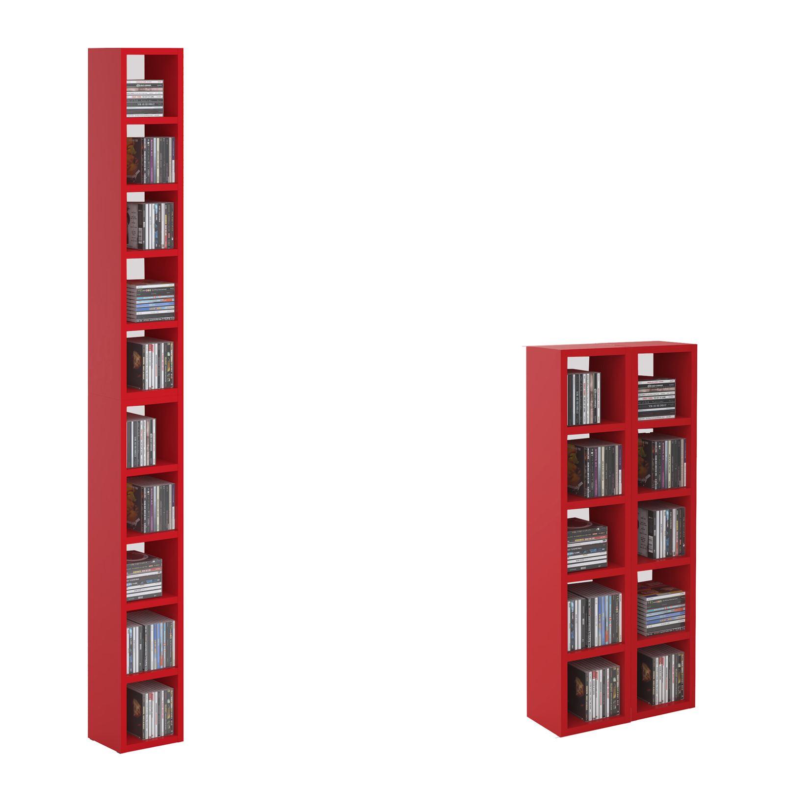 cd dvd blueray regal h nge stand wand aufbewahrungs dekoregal bis zu 160 cds ebay. Black Bedroom Furniture Sets. Home Design Ideas