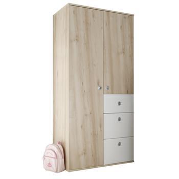 kleiderschrank sunny mit 3 schubladen caro m bel. Black Bedroom Furniture Sets. Home Design Ideas