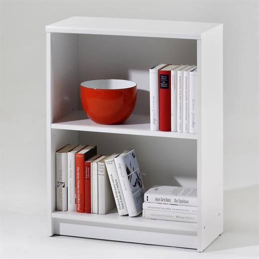 b cher regal stand wand b ro m bel in eiche s gerau oder weiss 78 cm ebay. Black Bedroom Furniture Sets. Home Design Ideas