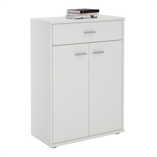 kommode sideboard schrank in verschiedenen farben 2 t ren. Black Bedroom Furniture Sets. Home Design Ideas