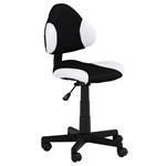 Bürodrehstuhl schwarz/weiß