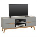 Lowboard TV Möbel, grau