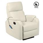 Relaxsessel SNOOZE mit Massagefunktion in beige
