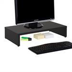 Bildschirmaufsatz MONITOR in schwarz 50 cm breit