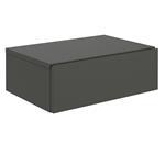 Hängende Nachtkommode ANNE mit 1 Schublade, grau