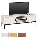TV Lowboard in 4 Farben mit 2 Schiebetüren