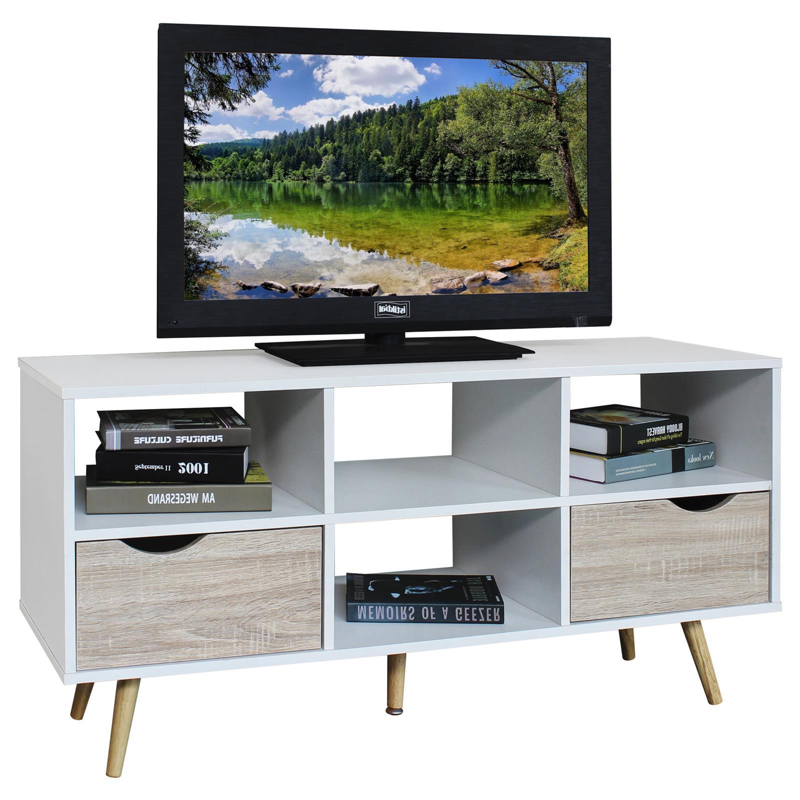Tv Lowboard In Weißsonoma Eiche Caro Möbel