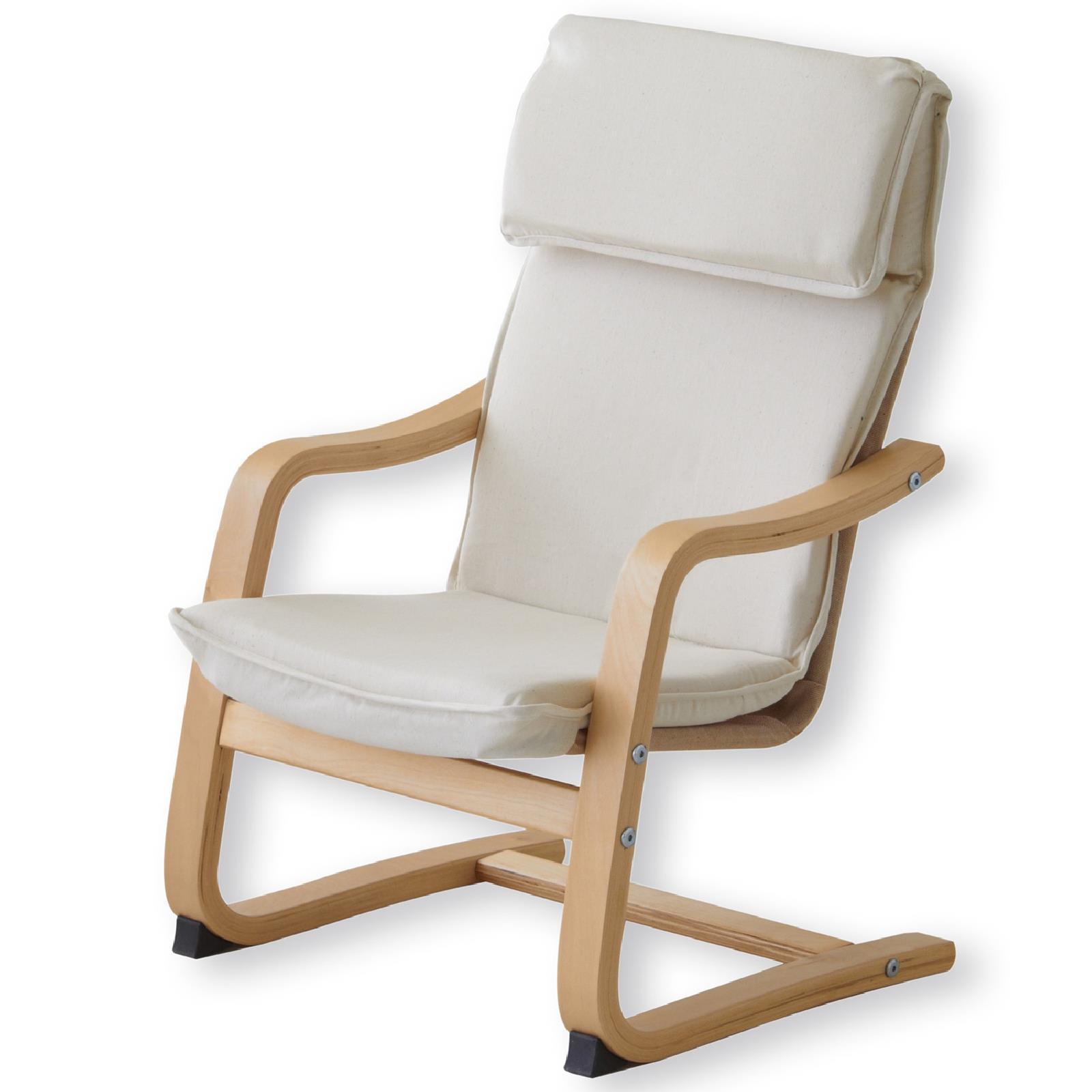 kinder relaxsessel in natur lackiert beige caro m bel. Black Bedroom Furniture Sets. Home Design Ideas