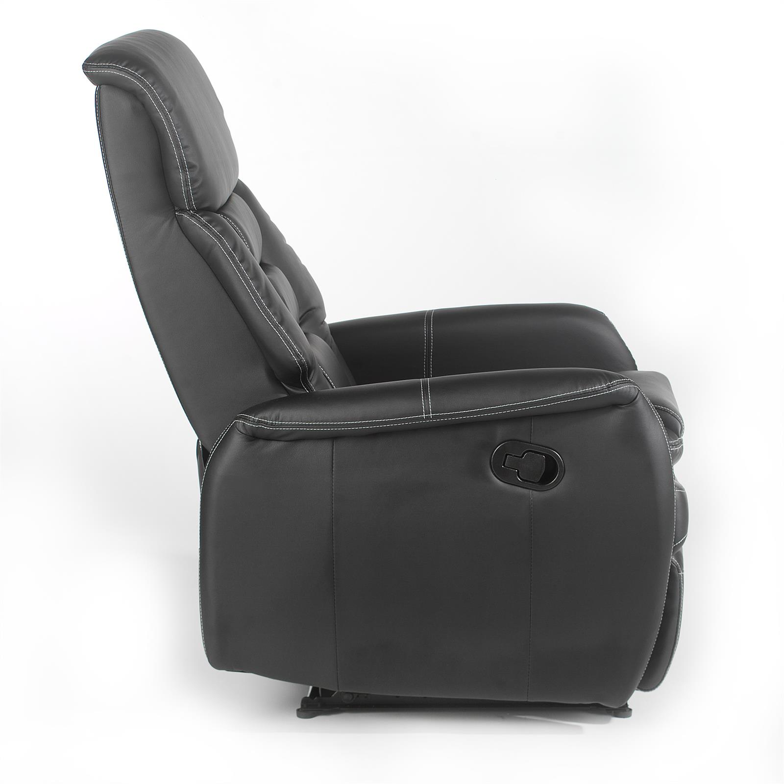 relaxsessel in schwarz mit liegefunktion caro m bel