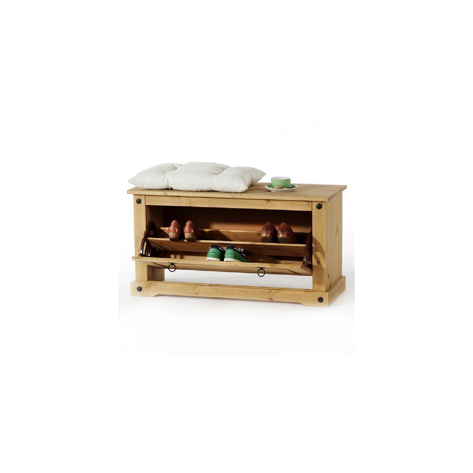 schuhbank mexico m bel aus kiefernholz caro m bel. Black Bedroom Furniture Sets. Home Design Ideas