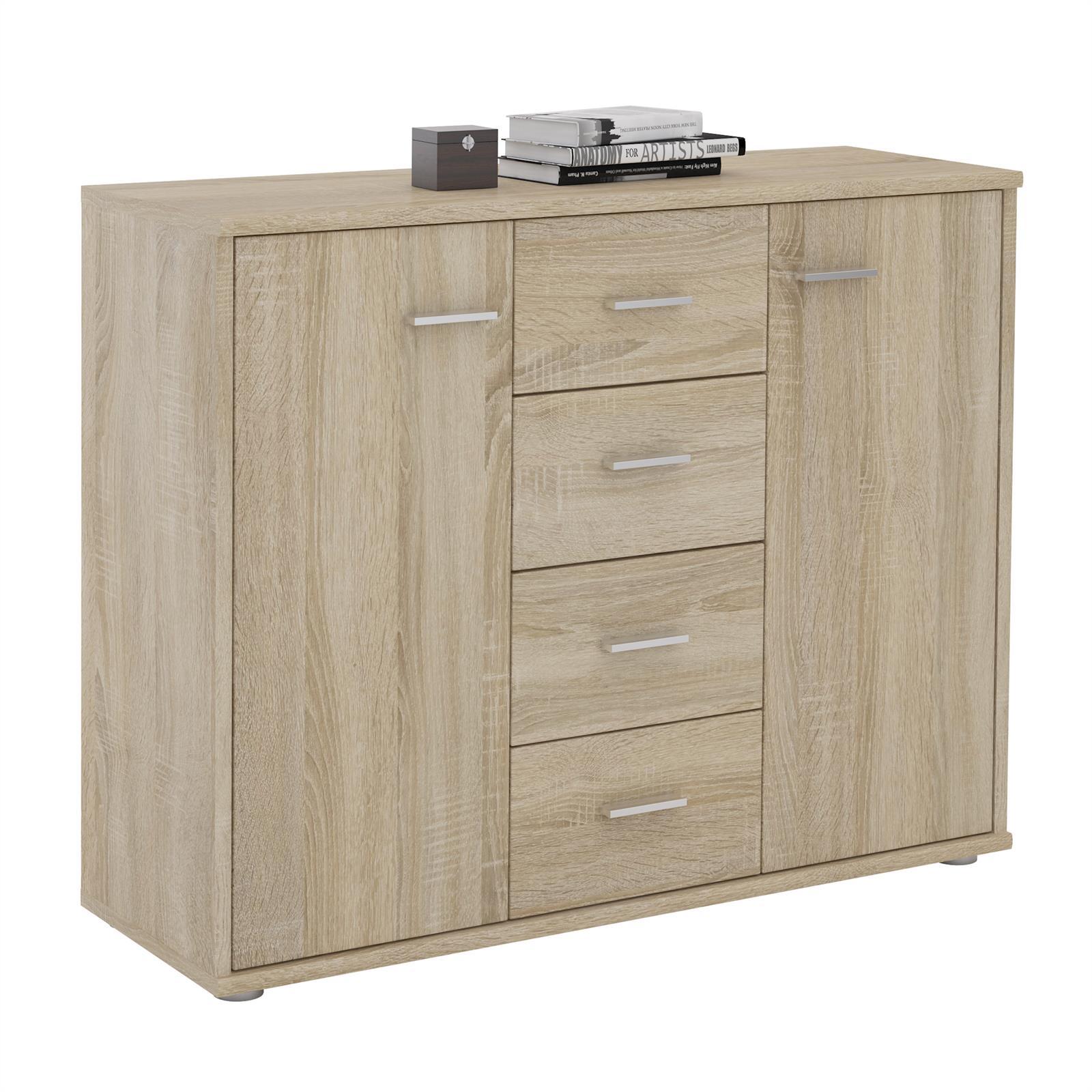 sideboard kommode mehrzweckschrank f r wohnzimmer anrichte. Black Bedroom Furniture Sets. Home Design Ideas