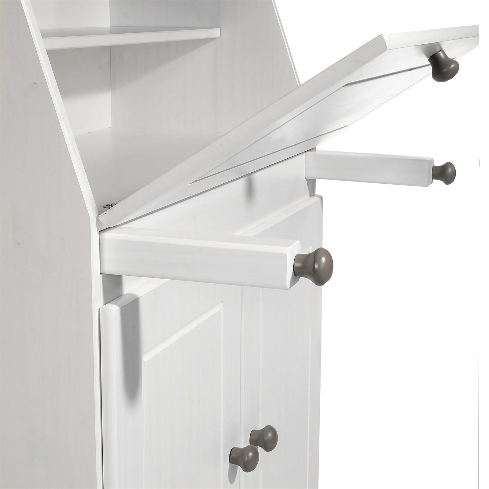 Wohnzimmer Sitzsack Chacos In Weiß Taupe: Sekretär Taupe/weiß