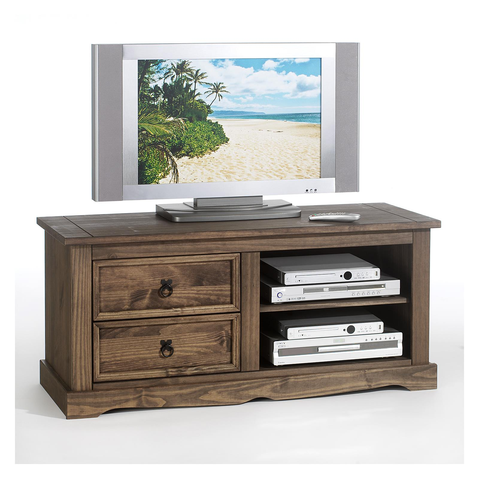 tv kommode mexico m bel dunkelbraun caro m bel. Black Bedroom Furniture Sets. Home Design Ideas