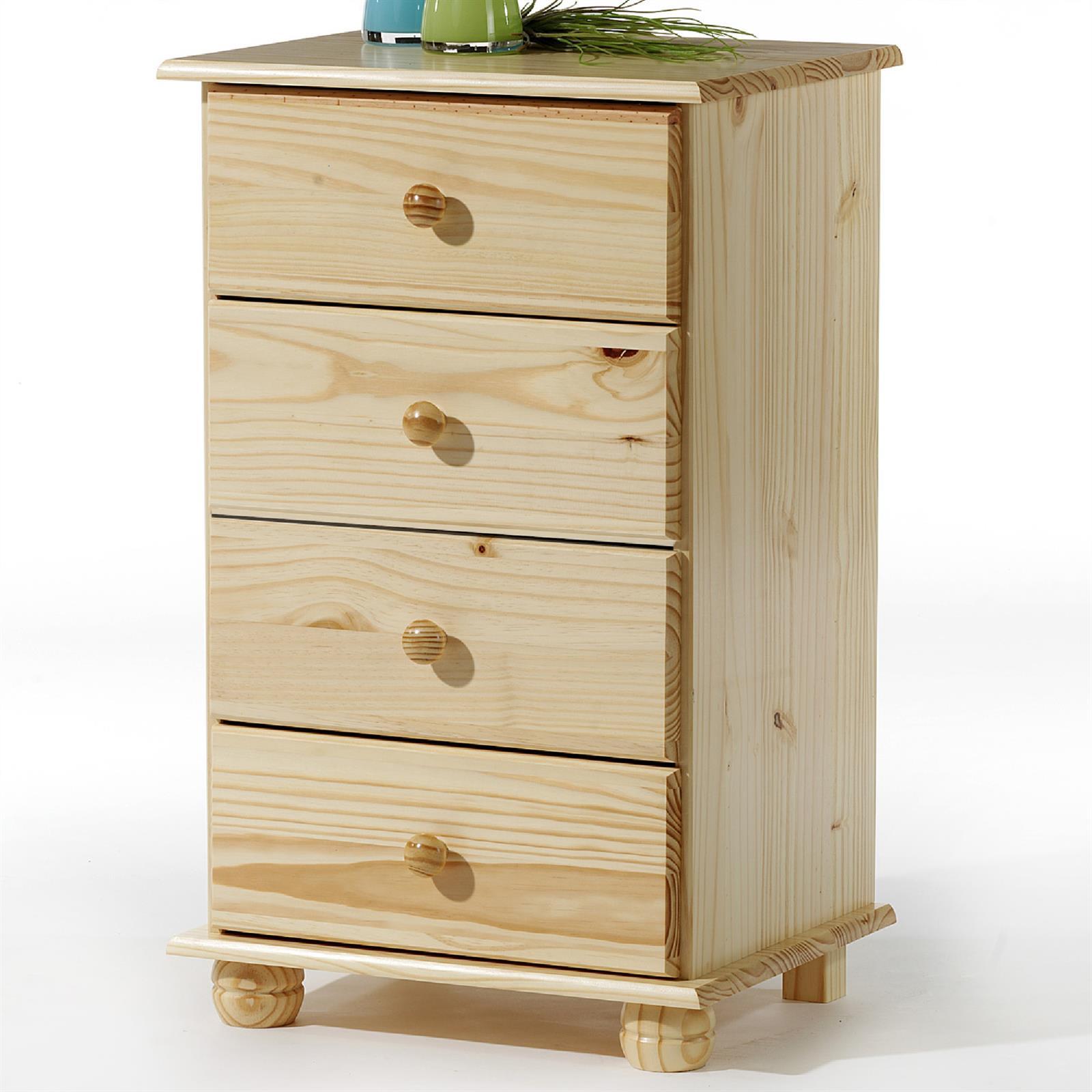 kommode bern natur lackiert mit 4 schubladen caro m bel. Black Bedroom Furniture Sets. Home Design Ideas