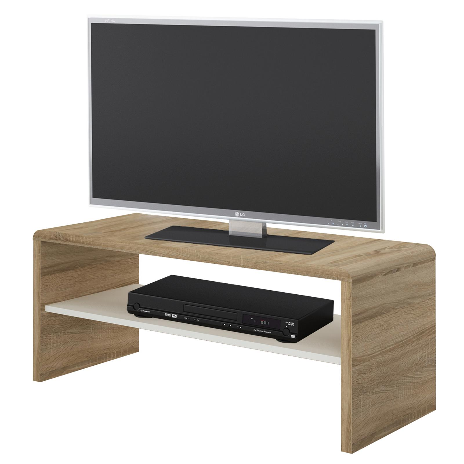 tv lowboard couchtisch fernsehschrank sofatisch 100 cm breit mit farbauswahl ebay. Black Bedroom Furniture Sets. Home Design Ideas