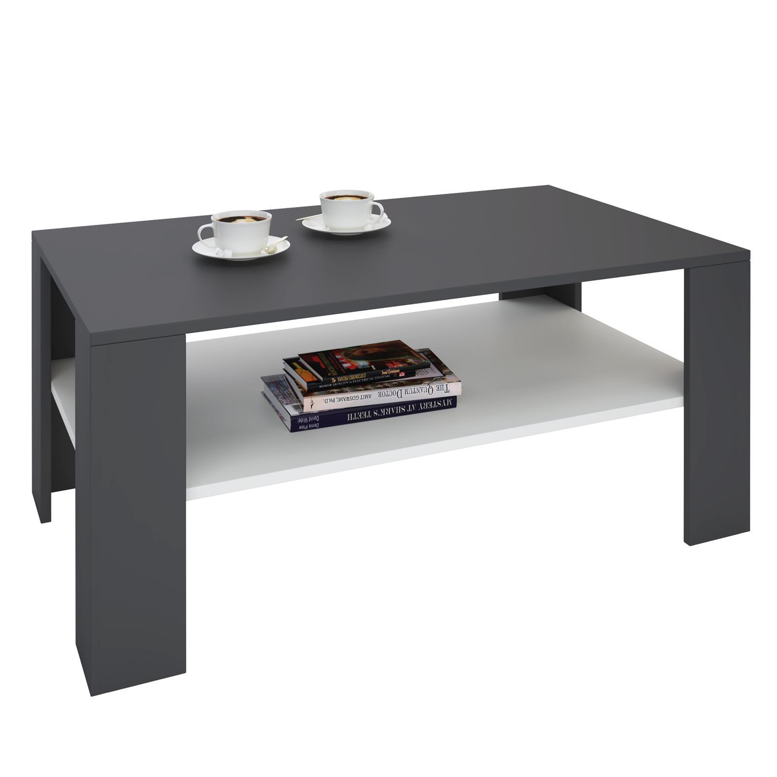 couchtisch animo in grau wei 100 x 60 cm caro m bel. Black Bedroom Furniture Sets. Home Design Ideas