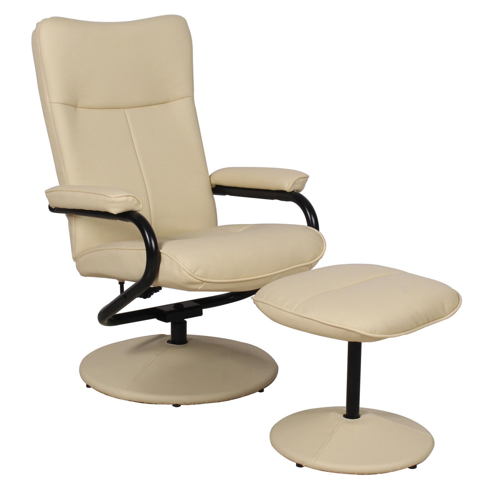 relaxsessel arizona drehbar mit hocker in beige caro m bel. Black Bedroom Furniture Sets. Home Design Ideas