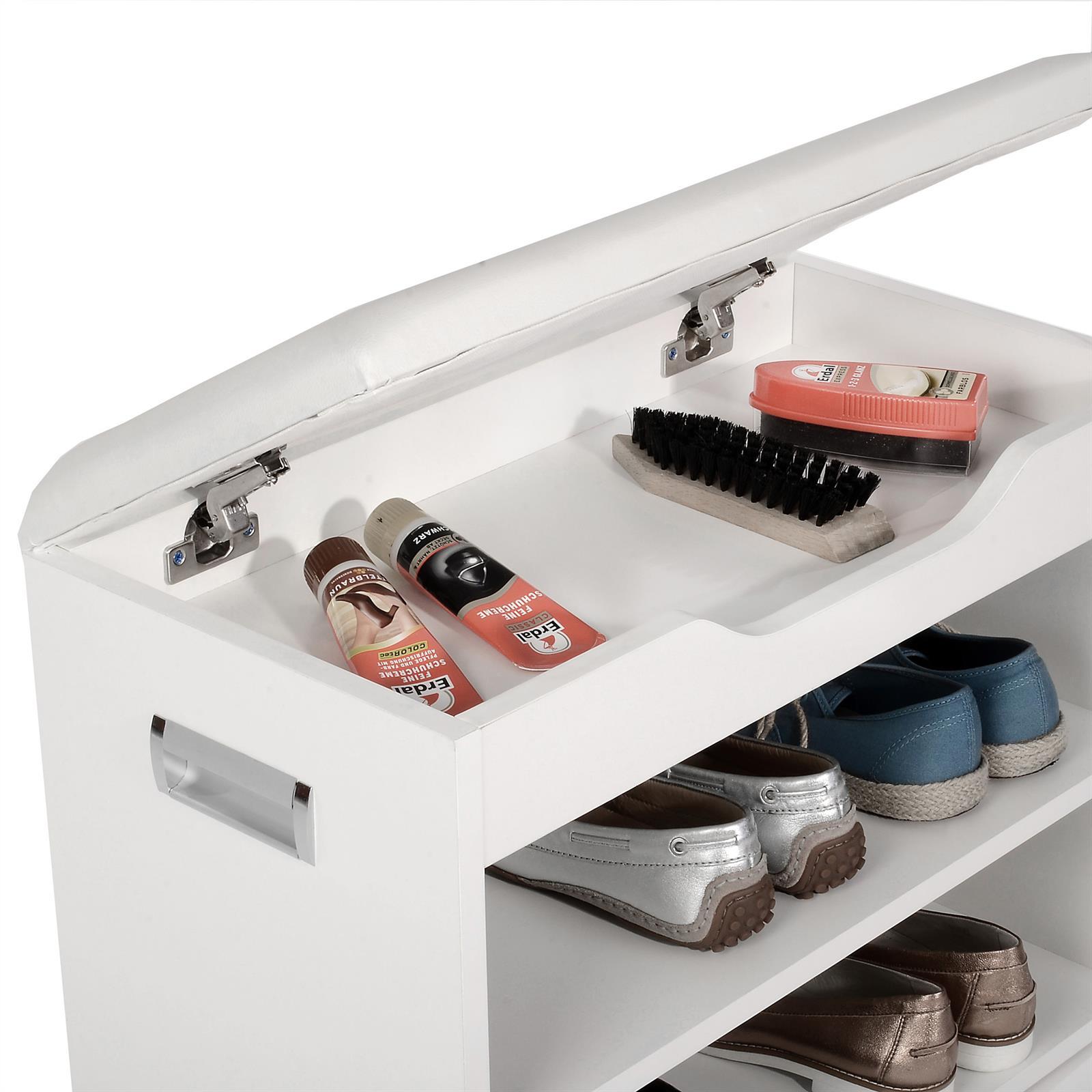 schuhbank zapato in wei 60 cm breit mit sitzkissen caro m bel. Black Bedroom Furniture Sets. Home Design Ideas