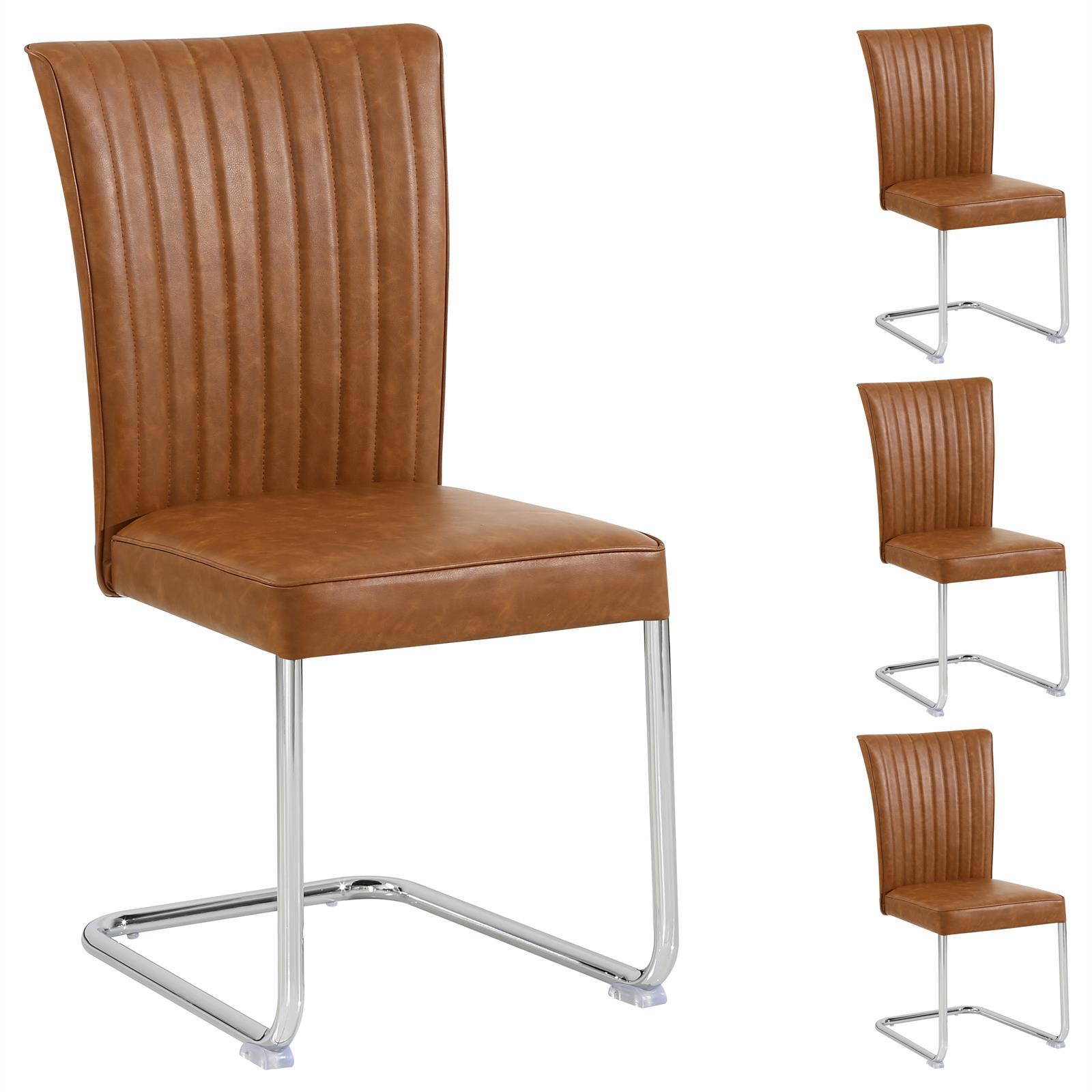 4er set esszimmerstuhl wildlederimitat k chenstuhl. Black Bedroom Furniture Sets. Home Design Ideas