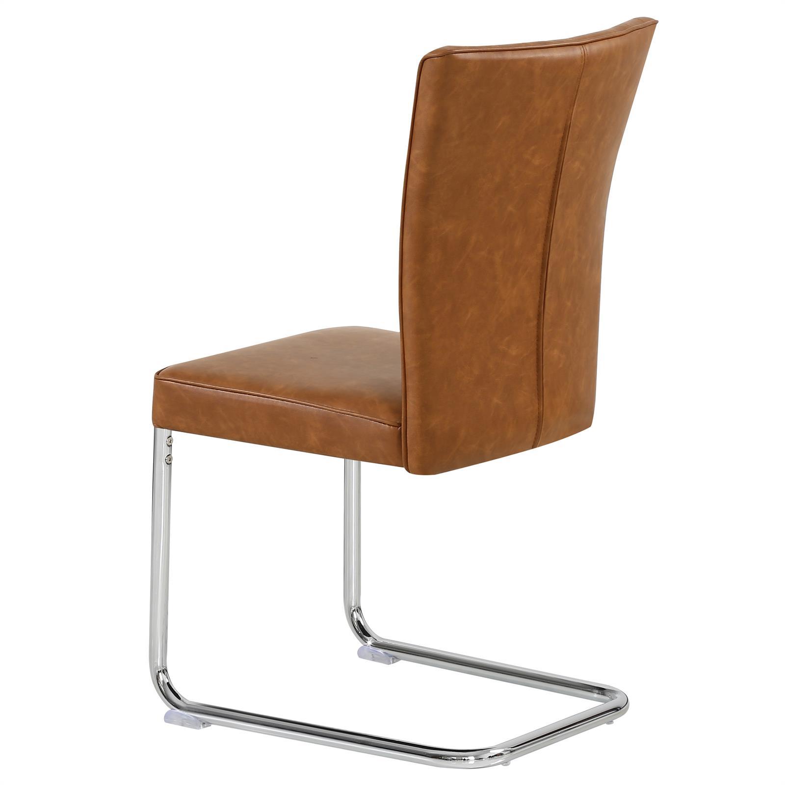 4er set esszimmerstuhl beverly in braun caro m bel. Black Bedroom Furniture Sets. Home Design Ideas