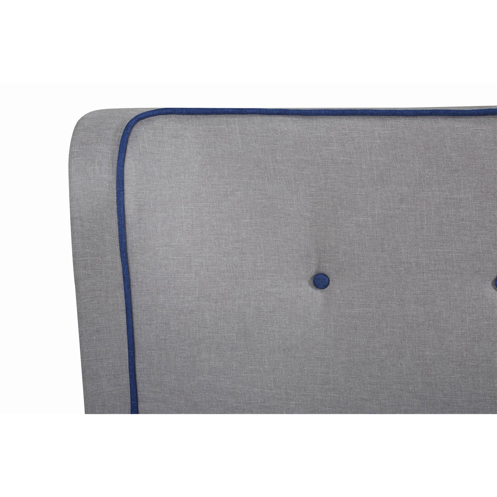 einzelbett polsterbett 120x200 cm inkl lattenrost. Black Bedroom Furniture Sets. Home Design Ideas