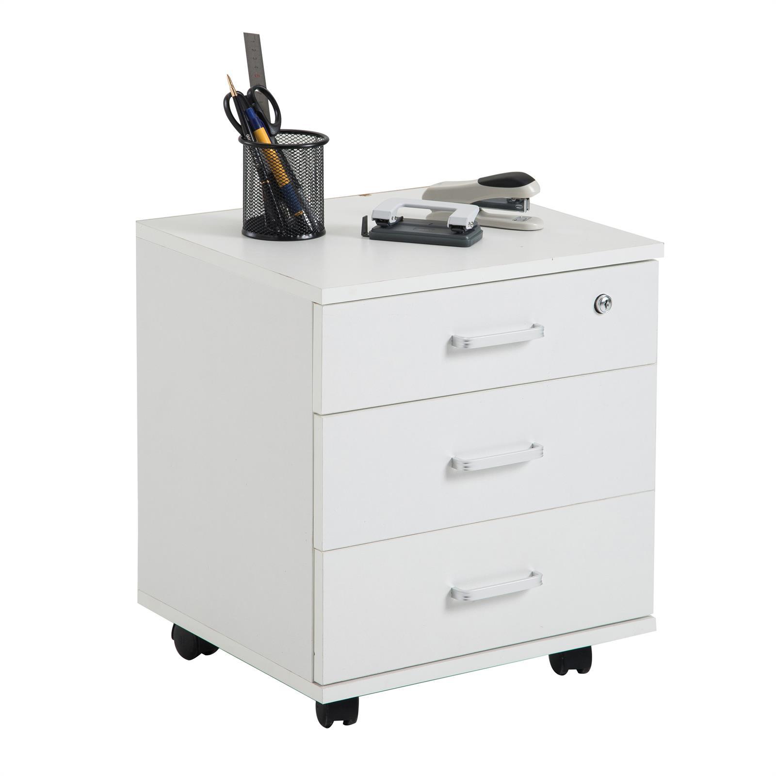 rollcontainer saturn mit 3 schubladen in wei caro m bel. Black Bedroom Furniture Sets. Home Design Ideas