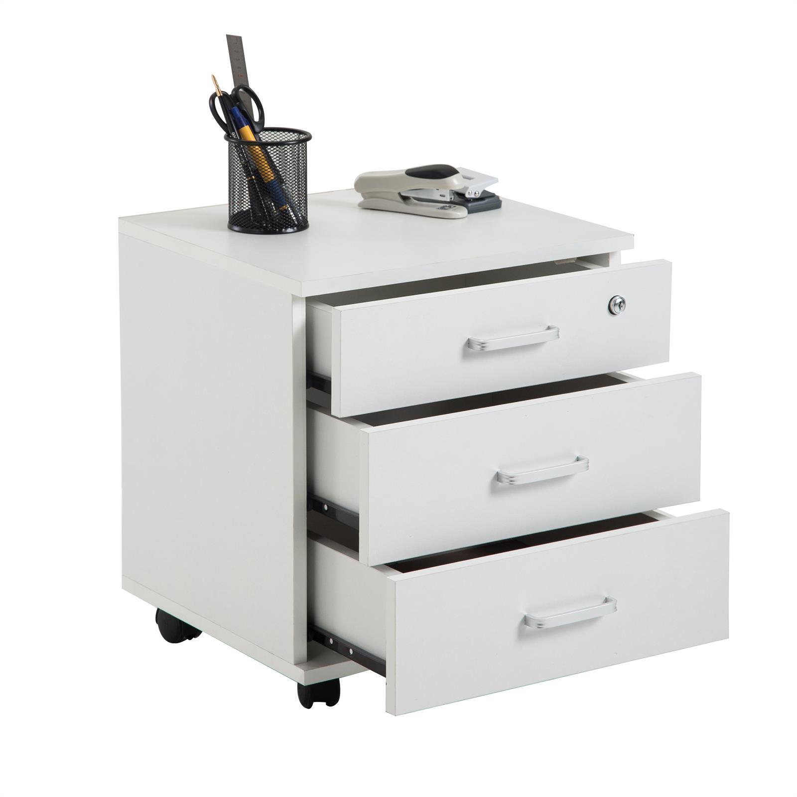rollcontainer b rocontainer schubladen element schrank aktens abschlie bar ebay. Black Bedroom Furniture Sets. Home Design Ideas