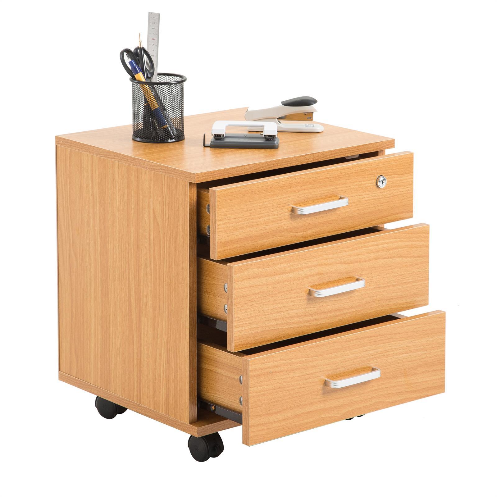 rollcontainer saturn mit 3 schubladen in buchefarben caro m bel. Black Bedroom Furniture Sets. Home Design Ideas