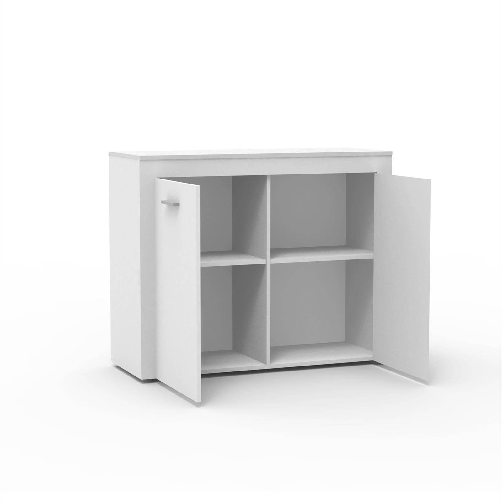kommode sideboard highboard anrichte shabby chic sonoma eiche 110 cm 2 t ren ebay. Black Bedroom Furniture Sets. Home Design Ideas