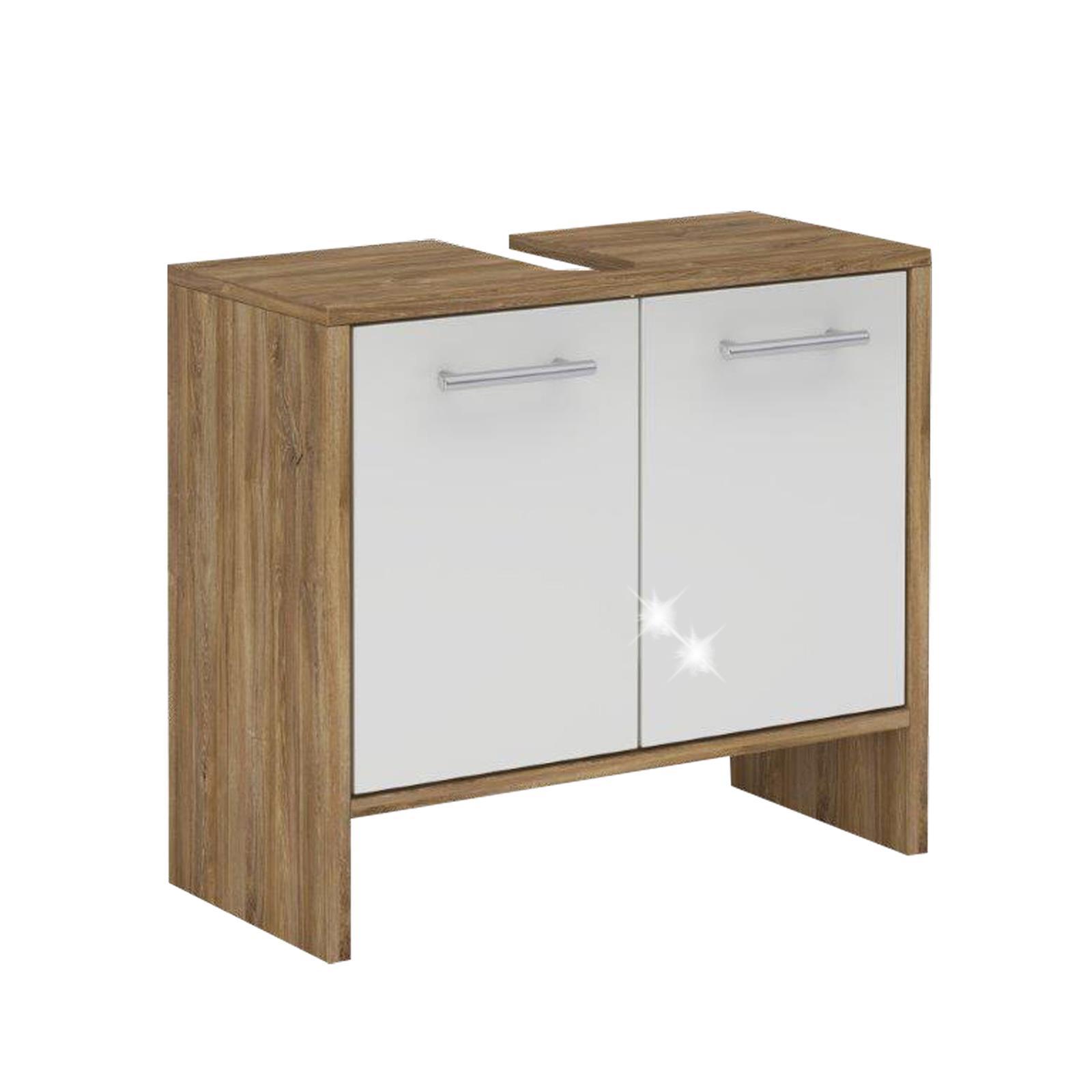 waschbecken unterschrank waschtischunterschrank badschrank k che 62 cm breit ebay. Black Bedroom Furniture Sets. Home Design Ideas