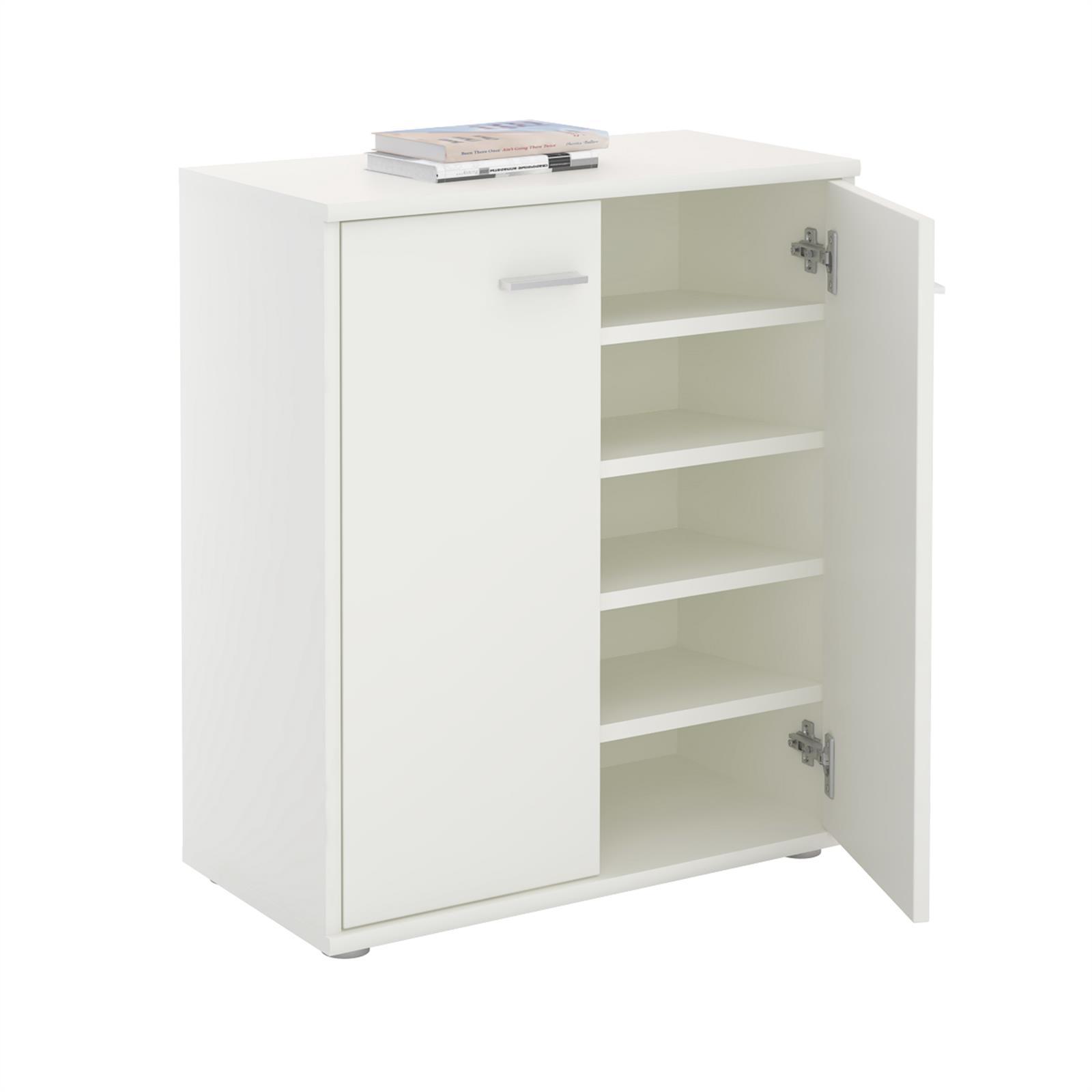schuhschrank schuhkommode aufbewahrung flurkommode diele anrichte ebay. Black Bedroom Furniture Sets. Home Design Ideas