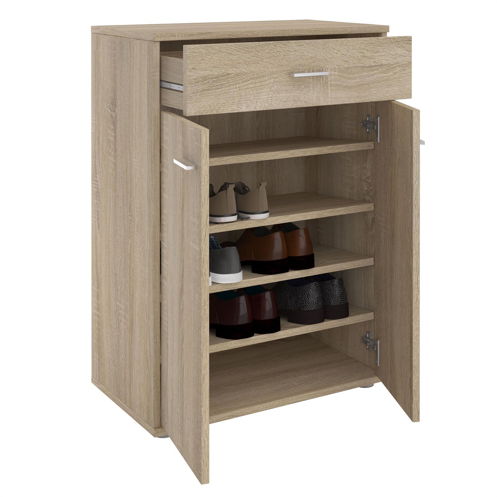 schuhschrank grenoble in sonoma eiche caro m bel. Black Bedroom Furniture Sets. Home Design Ideas