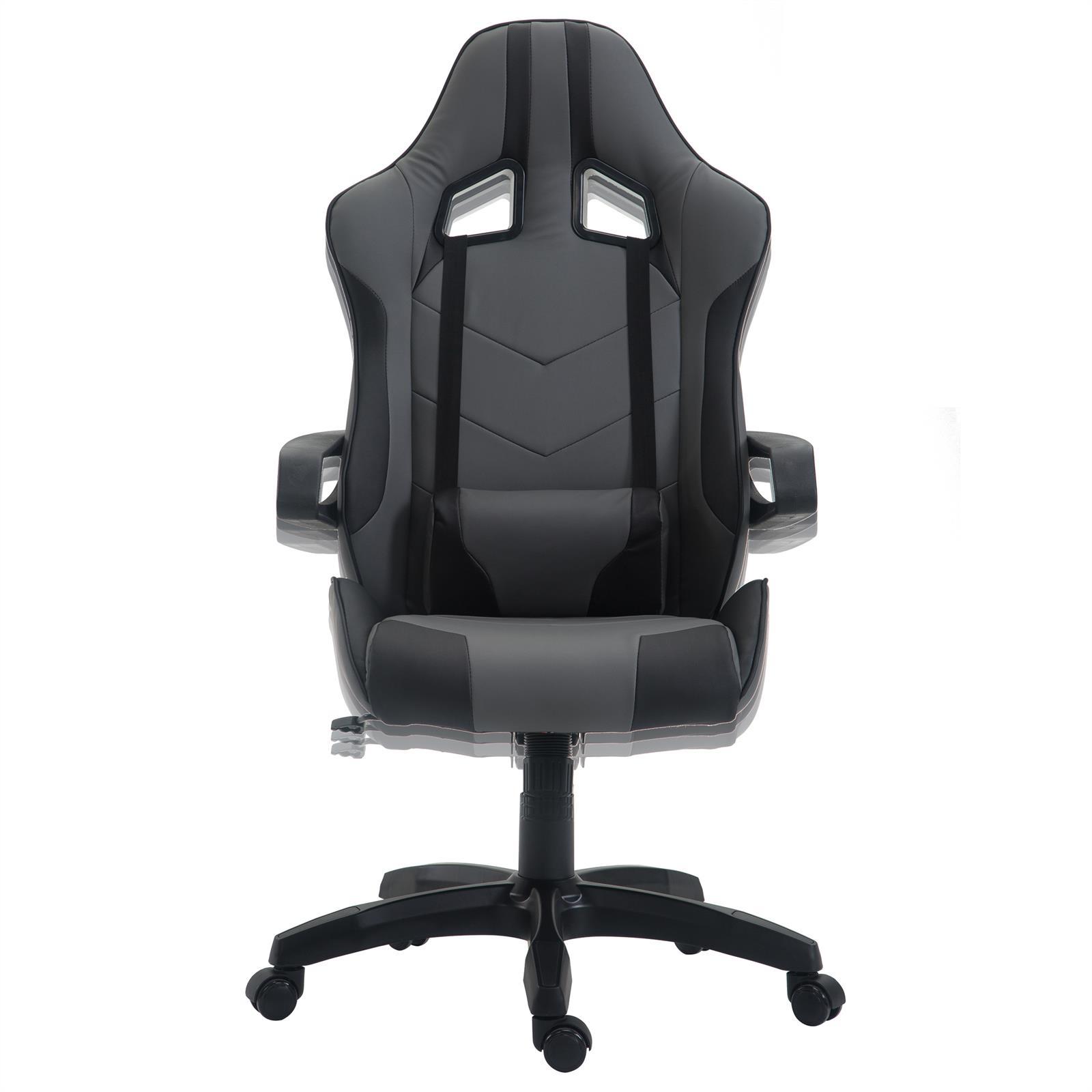 Gamer Schreibtischstuhl Für Stuhl Bürostuhl Zu Racer Gaming Chefsessel Details Drehstuhl 08OvnNwm