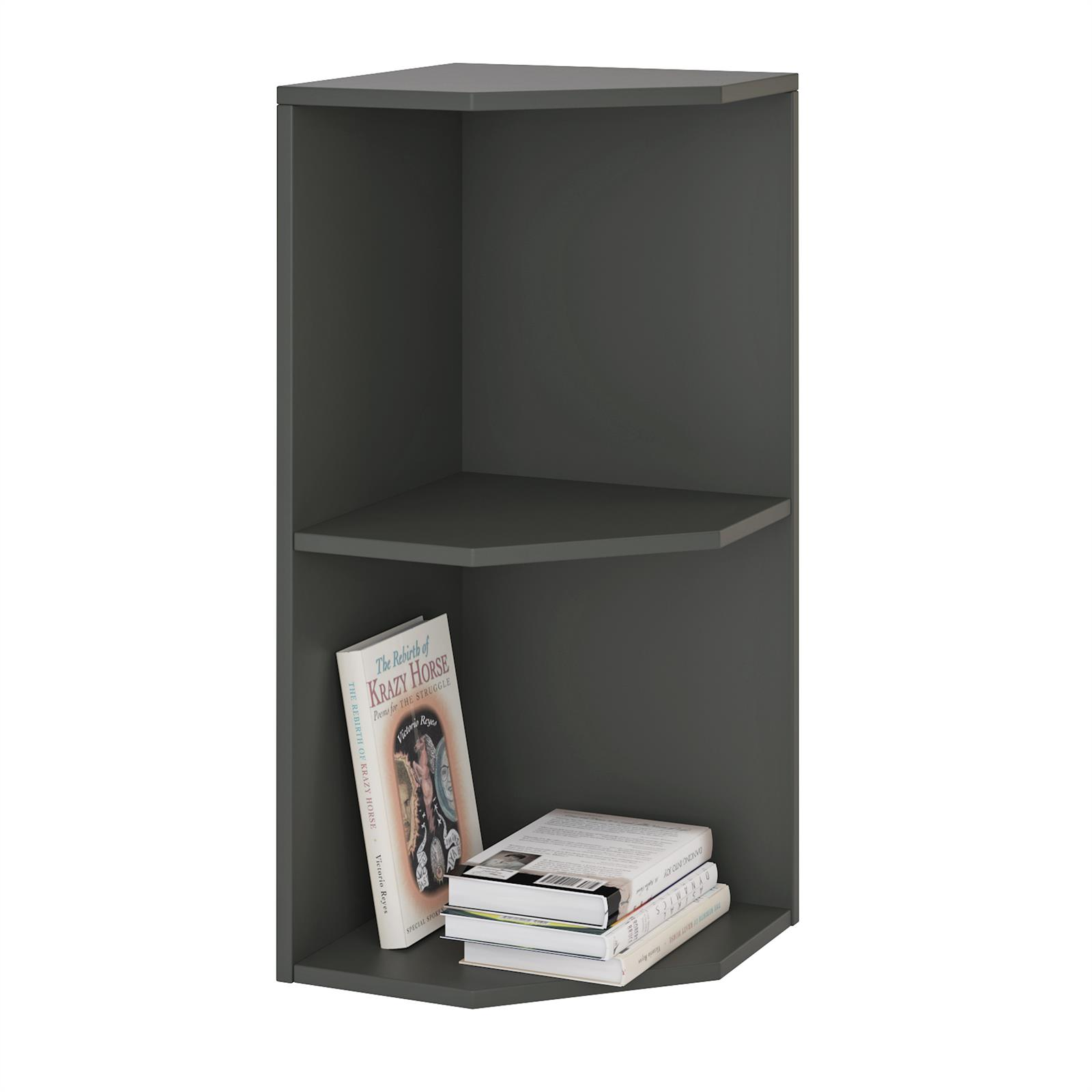 eckregal b cherregal stand b ro akten schrank aufbewahrung ordner ebay. Black Bedroom Furniture Sets. Home Design Ideas