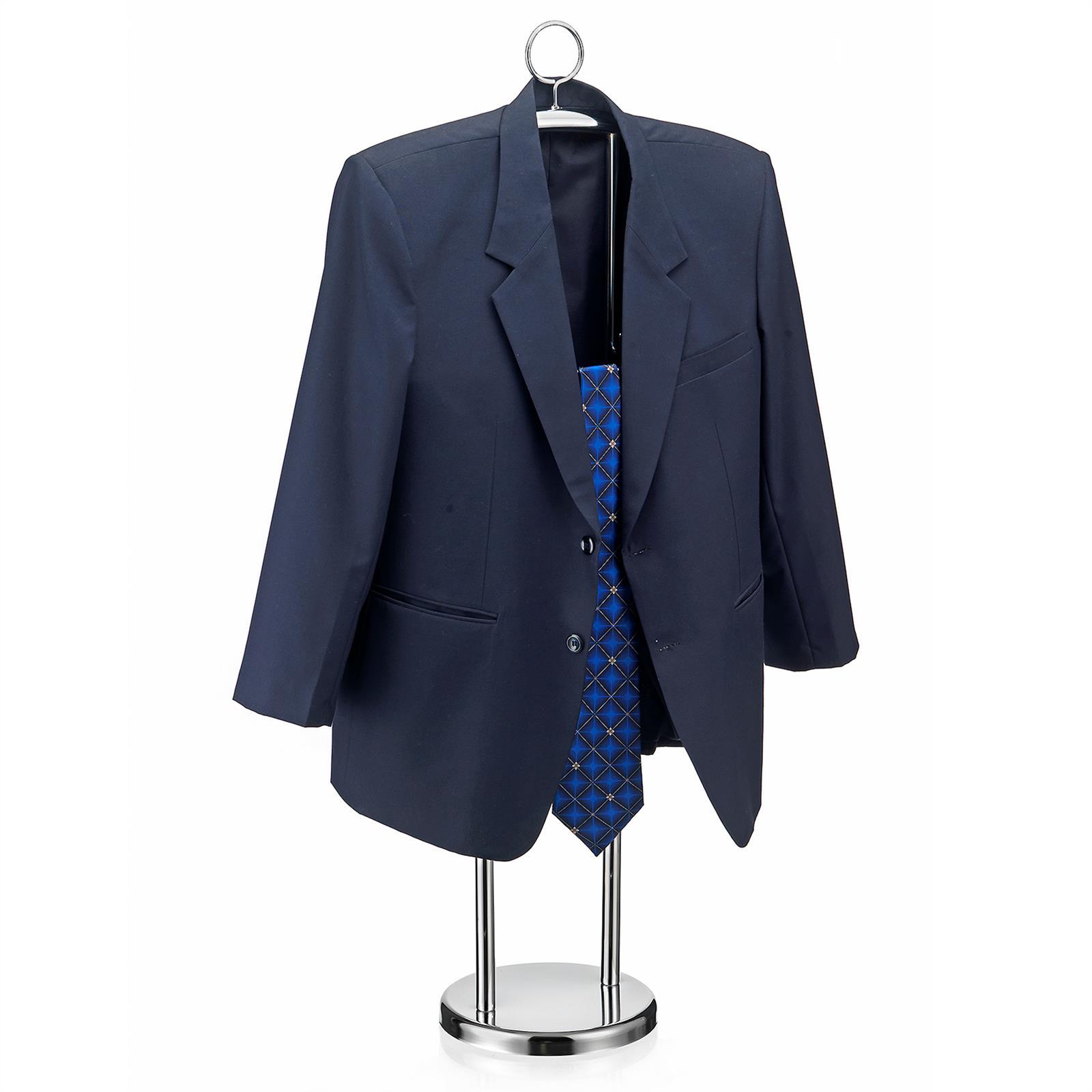 herrendiener kleiderst nder stummer diener butler hosenb gel und krawattenring ebay. Black Bedroom Furniture Sets. Home Design Ideas