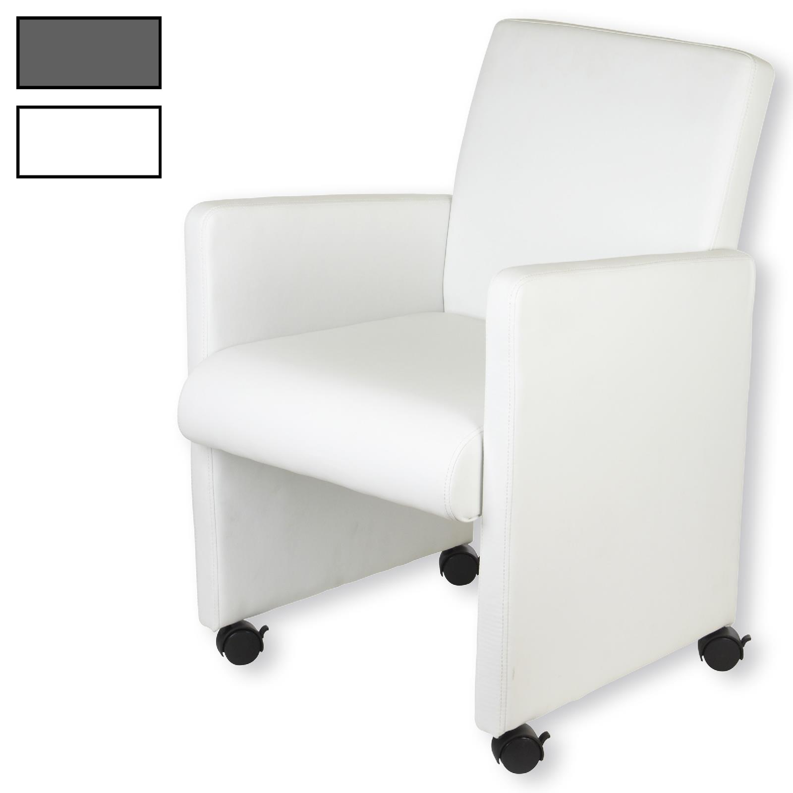 clubsessel auf rollen in versch farben caro m bel. Black Bedroom Furniture Sets. Home Design Ideas