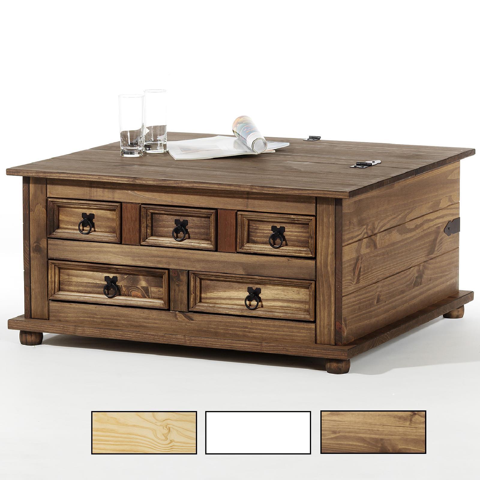 truhentisch fritz mexico m bel kiefer massiv caro m bel. Black Bedroom Furniture Sets. Home Design Ideas