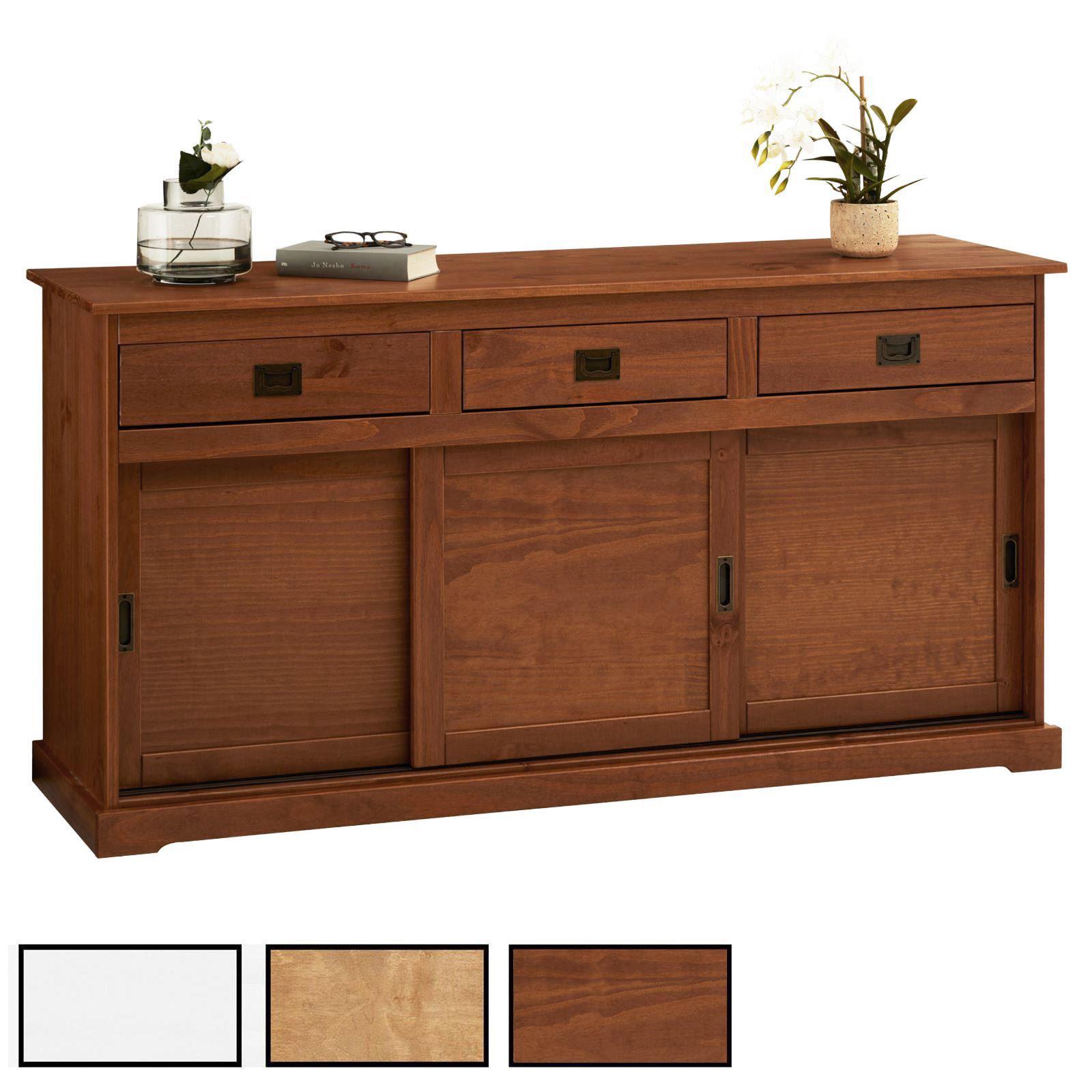 anrichte 3 t ren verschiedene farben caro m bel. Black Bedroom Furniture Sets. Home Design Ideas