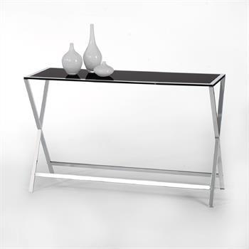 Konsolentisch mit Glasplatte