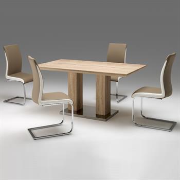 Design Esstisch aus MDF in Sonoma Eiche