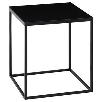 Beistelltisch schwarz 40 x 40 cm