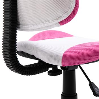 Bürodrehstuhl OSAKA mit Netzbezug, in pink