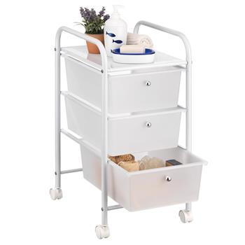 Rollcontainer GINA mit 3 Schubladen in weiß